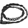 Voxom Sch2 lucchetto per bici bianco/nero